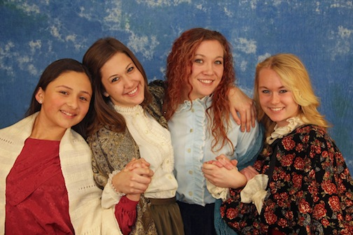 Beth, Jo, Meg, and Amy -- ALT's LITTLE WOMEN!